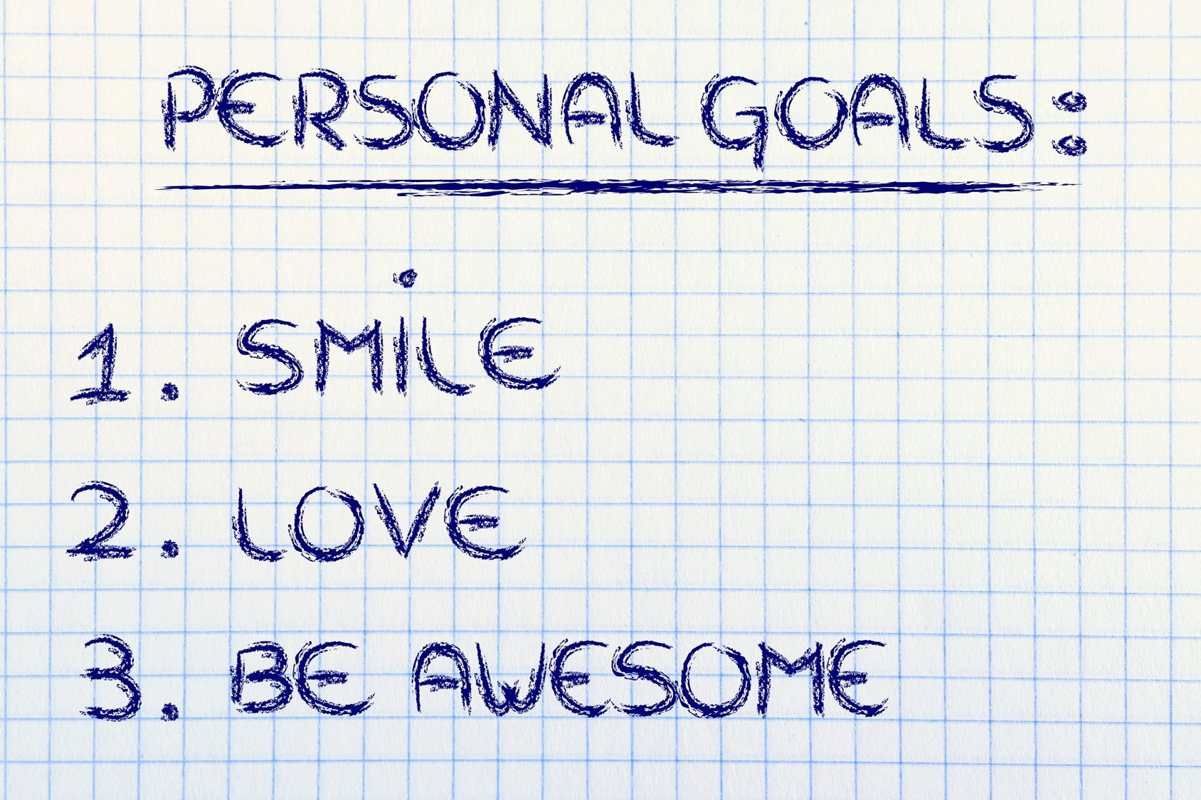 list of personal goals smile love and be awesome joy in the list of personal goals smile love and be awesome list of personal goals smile love and be awesome
